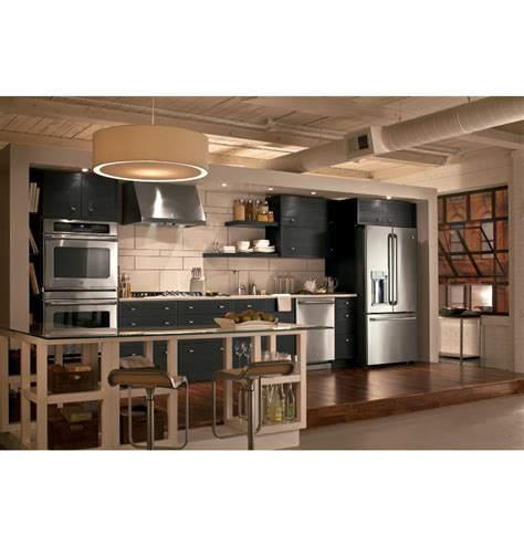 Barn Interior Doors Amazing Ge Slate Appliance Package Med Art Home Design