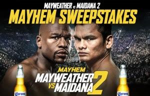 Contests Vs Sweepstakes - enter mayweather vs maidana ii tickets giveaway sweepstakes proboxing fans com