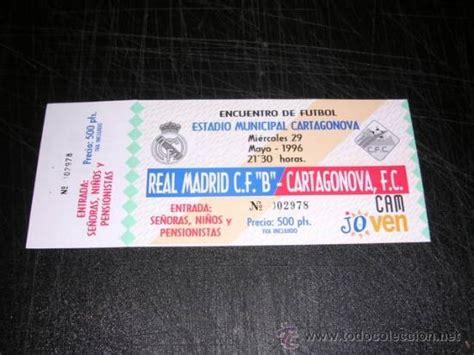 comprar entradas de futbol entrada de futbol estadio cartagonova r madrid comprar