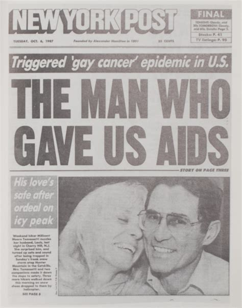 aids in new york the five years new york post headline 150 years in the stacks