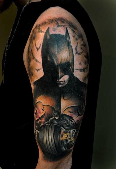 batman tattoos for men 50 best batman designs and ideas