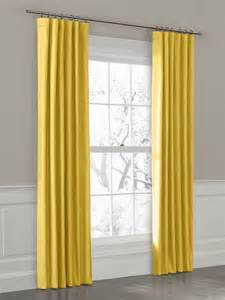 Mustard Yellow Curtains Custom Ring Top Drapery Panel In Breezy Linen Mustard Curtains New York By Loom Decor