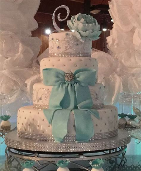 quinceanera themes tiffany blue tiffany quincea 241 era party ideas photo 8 of 24 catch my