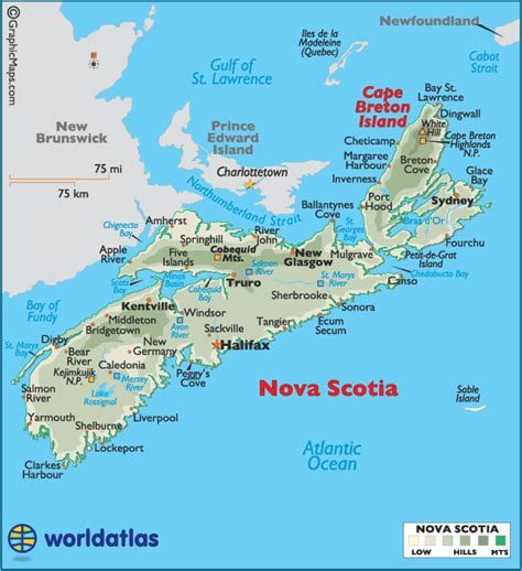 where is scotia in canada on the map scotia