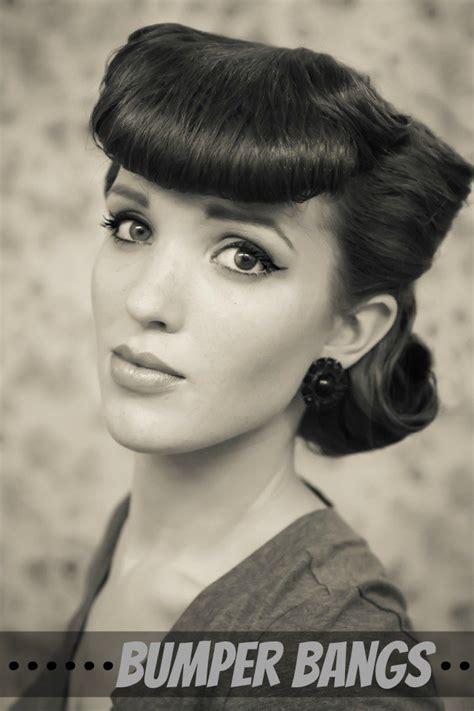 finally this vintage bangs trend is making a return and 18 graceful klassiker frisur tutorials haar moden trends
