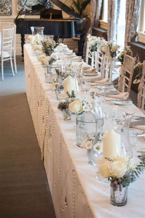 table top decoration the 25 best ideas about wedding top table flowers on