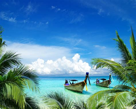 wallpaper landscape sea bay shore sky beach coast