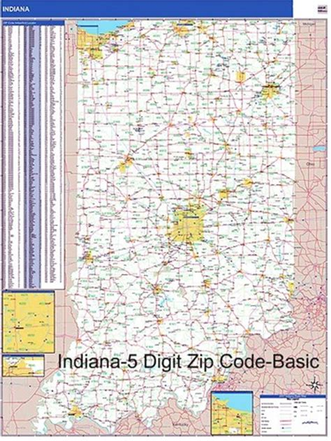 indiana zip code map indiana zip code map from onlyglobes