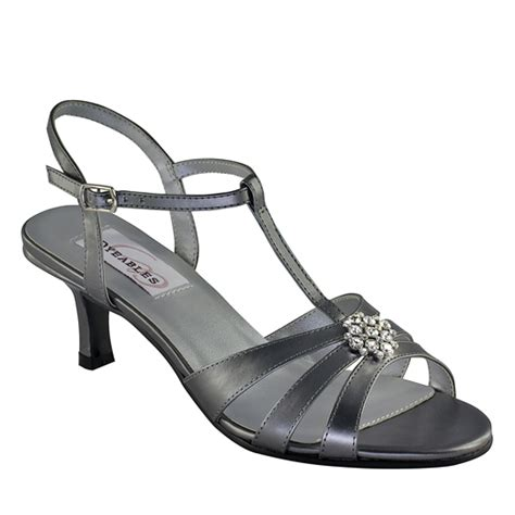 pewter shoes for wedding pewter evening sandals sandals