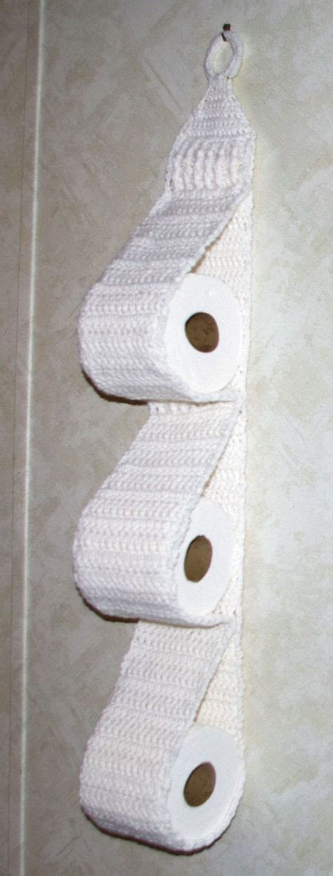 Pattern For Toilet Paper Holder | free pattern how to crochet a hanging toilet paper