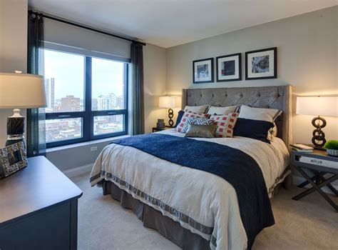 four bedroom apartments chicago model bedroom at amli river north a luxury apartment