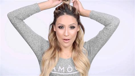 puffed up ponytail creative half ponytail hairstyles hairstyle for women