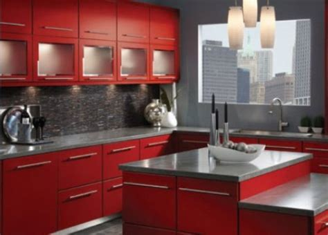 red kitchen paint ideas great red kitchen cabinets red color kitchen cabinetry