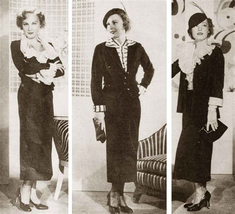 1930s fashion women s dress and hairstyles glamourdaze 1930s fashion autumn dress styles for 1934 glamourdaze