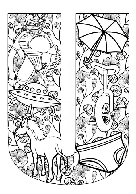 U Coloring Pages Free by Free Coloring Pages Of Things That Begin With K