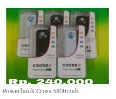 Harga Barbel Reebok arema sport army and sport power bank crocs 5800mah