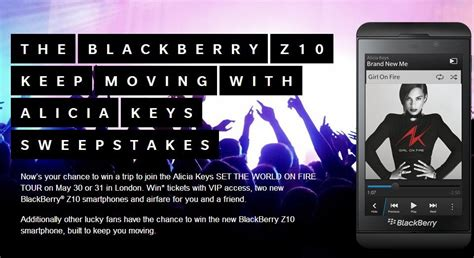 T Mobile Sweepstakes - blackberry z10 keep moving sweepstakes also available on verizon t mobile berryreview