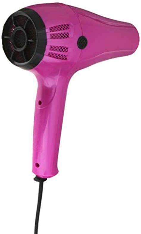 Conair 1875 Hair Dryer Pink conair 1875 watt cord keeper hair dryer with ionic