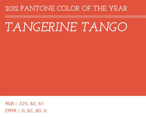 Pantone Color Of The Year 2012 tangerine tango pantone color of 2012 three fifteen design