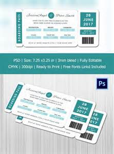 save the date boarding pass template boarding pass invitation template 36 free psd format