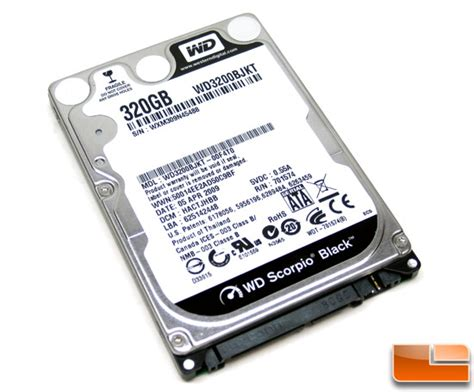 Hardisk Wd Scorpio Blue 320gb wd scorpio black 320gb sata drive review page 8 of