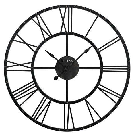 numeral design wall clock large from cbk home large wall clock with numerals awesome image is