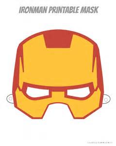 pin print ironman mask