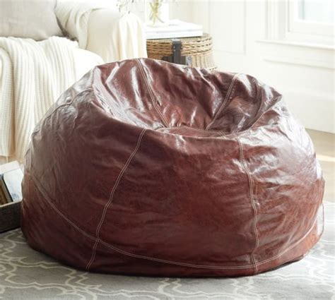 leather bean bag paper weights leather bean bag cover pottery barn
