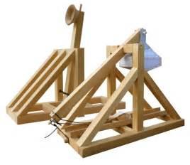 Desk Trebuchet by Wooden Trebuchet And Catapult Kit