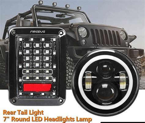halo jeep wrangler firebug wrangler jk tail lights jeep wrangler halo