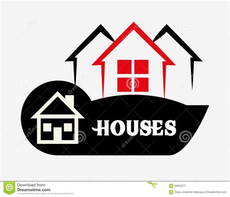 Home Design Vector House Design Stock Vector Image 59062077