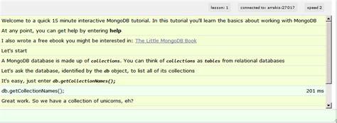 node js mongodb tutorial pdf tutorial interactif mongodb techblogsearch com