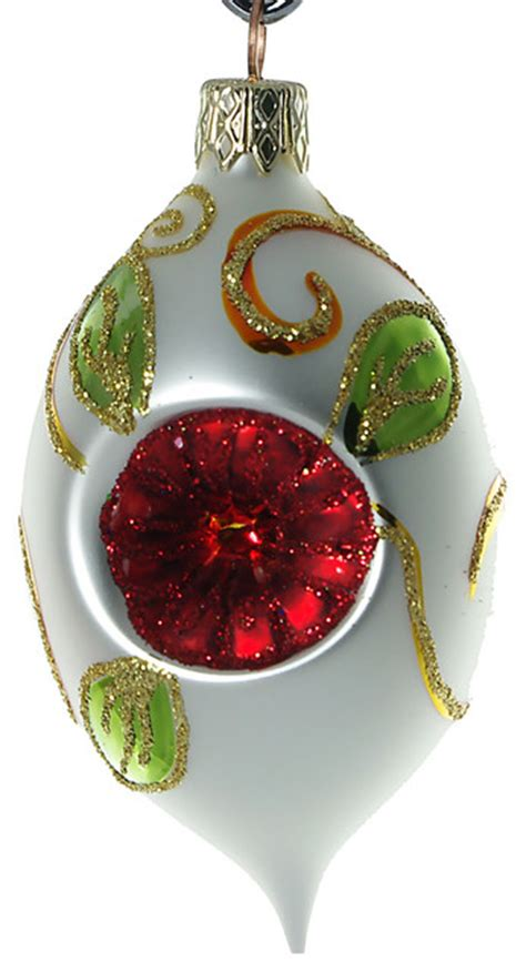 traditional ornaments glass olive ornament traditional