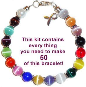 what you need to make jewelry cancer awareness supplies hollow