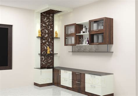 Kitchen Cupboard Designs For Small Kitchens mashie crockery unit with laminate finish