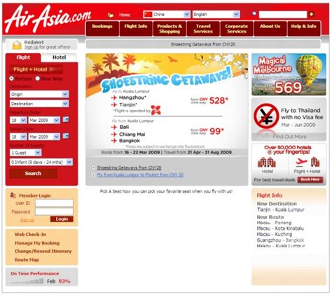 airasia vision and mission air asia business plan