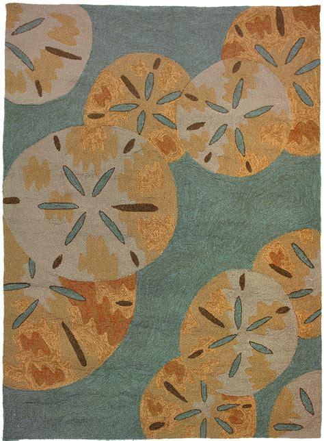 sea rug sand dollar by the sea rug