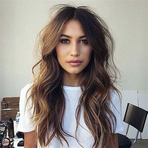 edgy hairstyles for long wavy hair long edgy wavy haircuts www imgkid com the image kid