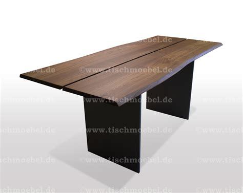 bettdecke 80 x 160 tisch nussbaum mit baumkante 160 x 80 cm schwarzstahl