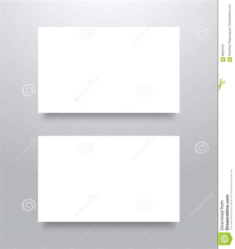 blank mockup templates blank business card mockup stock illustration image