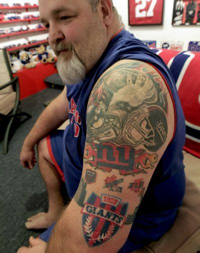 ny giants tattoo new york giants tattoos ideas center
