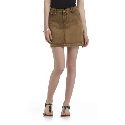 route 66 s colored denim skirt