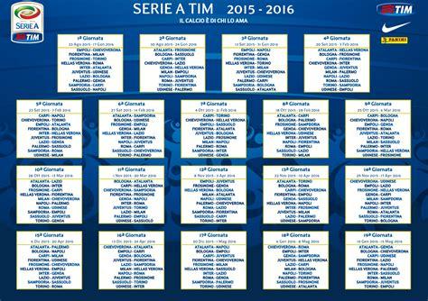 Calendrier Liga 2017 18 Inizia La Serie A 2015 16 Il Calendario Fantacalciomag It