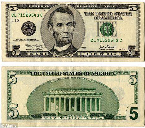 5 Of The Best Money Best 25 5 Dollar Bill Ideas On 10 Dollar Bill