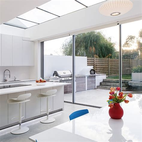 extension kitchen ideas smart white kitchen extension kitchen extension design