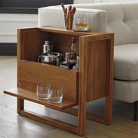 mini bar en madera  metal  ideas  el hogar