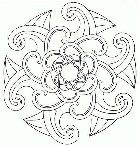 printable coloring pages designs free printable coloring pages of cool designs az