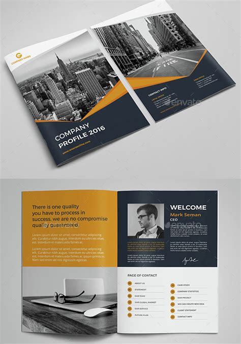 design your company profile 30 company profile design templates 2018 wpshopmart