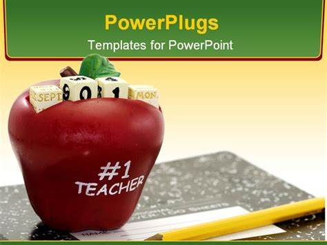 powerpoint templates for teachers free back to school concept powerpoint template background of