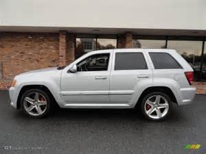 bright silver metallic 2010 jeep grand srt8 4x4